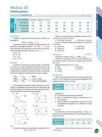 (Curta / Salve / Siga) Cinética química I - Exercícios