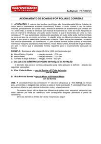 manual de calculo de polias e correias