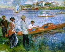 Pierre Auguste Renoir - oarsmen_at_chatou