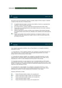 SIMULADO - SIMULADO - PRÁTICA DE APURAÇÃO E PESQ EM JORNALISMO