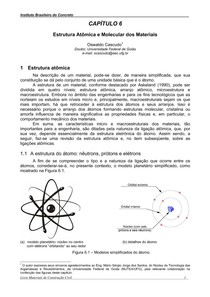 Estrutura Atômica E Molecular Dos Materiais Química 5