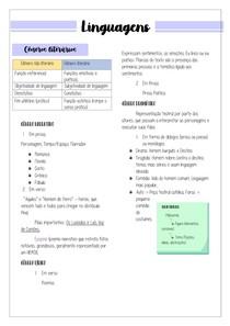 Linguagens - Generos Textuais