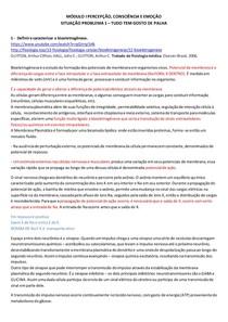3A FASE MÓD 2 - PERCEPÇÃO, CONSCIÊNCIA E EMOÇÃO SP 1 TUDO TEM GOSTO DE PALHA