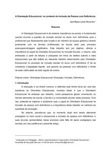 ARTIGO FINAL DE CURSO UNIFAC