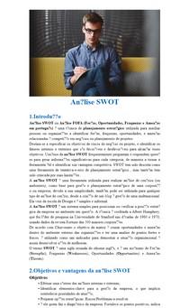 Introdução Análise SWOT