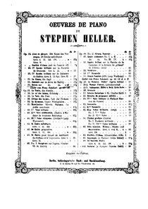 Heller partitura