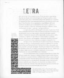 Pensarcomtipos LETRA redux