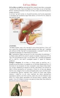 Litíase Biliar (COLELITÍASE)
