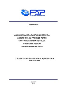 TRABALHO FINAL - RESUMO DOS GRUPOS