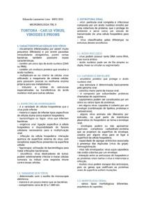 RESUMO CAPÍTULO 13 TORTORA VÍRUS, VIROIDES E PRIONS