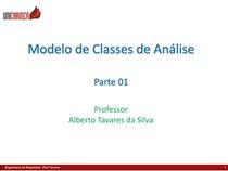 Modelo de Classe de Análise - parte 01ss