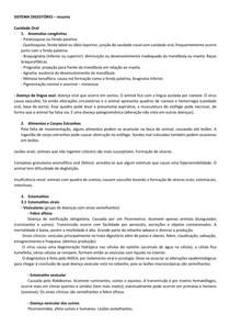 ANATOMIA PATOLÓGICA DO SISTEMA DIGESTÓRIO