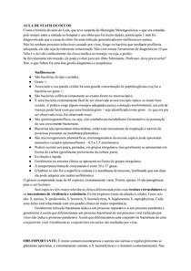 Transcrição: Stafilococcos