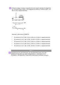 Simulado Mecânica dos Solidos