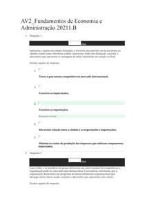 AV2_Fundamentos de Economia e Administração 20211