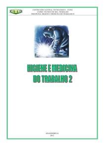APOSTILA HIGIENE DO TRABALHO 2 - Medicina 533772ed9b