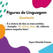 Figuras de Linguagem - Sinestesia
