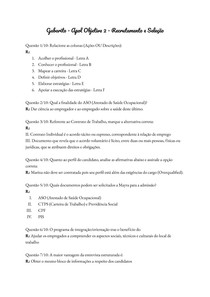 Gabarito - Apol Objetiva 2 - Recrutamento e Seleção