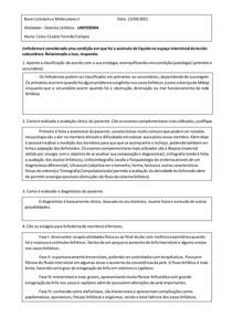 Atividade Linfedema - Celso Cesário Torreão Campos