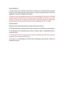 CASO CONCRETO 5 TRIBUTÁRIO