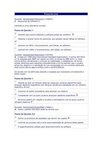 CCT0247   QUALIDADE DE SOFTWARE   ZZZZ   AV3