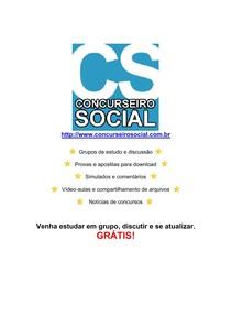 Concurseiro Social - Apostila Completa de Direito Previdenciário
