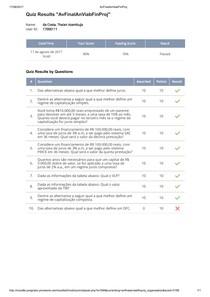 GA73A  Avaliação final   Análise de Viabilidade Financeira em Projetos