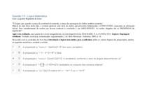 Apol 1 - Lógica Matemática uninter