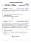 ADMINISTRAÇÃO DE RECURSOS HUMANOS - EXERCÍCIO 6