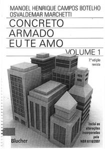 Concreto Armado Eu Te Amo Volume 1 Pdf