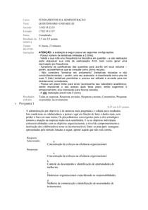 Fundamentos da Adminitração Questionario  03.doc