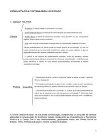 apostila de CIÊNCIA POLÍTICA 2014