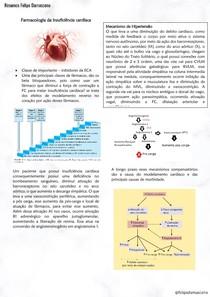 Resumo Farmacologia Insuficiência Cardíaca