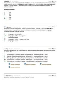 Avaliando aprendizado logica de programação 3