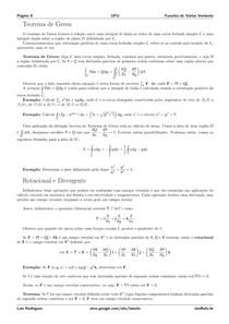 Teoria   Integrais de Linha e de Superfície   Parte 2