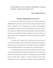 Fisiologia e fisiopatologia do controle motor   Qualis