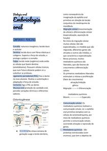 Embriologia oral