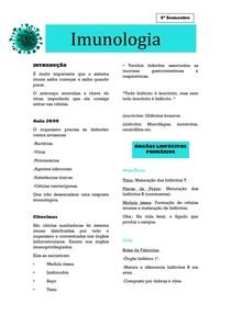 Imunologia- Introdução