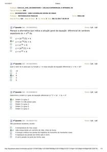 AVS   Cálculo Difencial III
