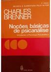 NOCÕES BÁSICAS DE PSICANÁLISE de Charles Brenner