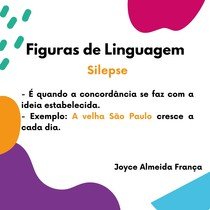 Figuras de Linguagem -Silepse
