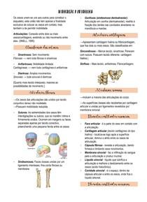 Introdução a artrologia