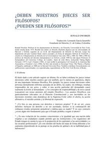 dworkin_DEBEN_NUESTROS_JUECES_SER_FILOSOFOS