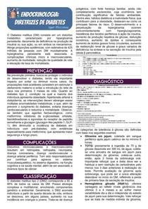 Endocrinologia - Diretrizes Brasileiras de Diabetes 2019-2020