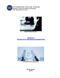 Apostila - Técnicas de Pesquisa de Marketing -  Até Pg 50 - 2013.2 doc