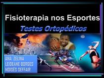 Testes Ortopédicos   Fisioterapia