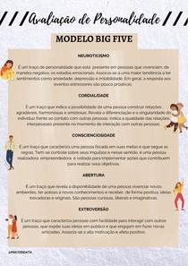 Modelo Big Five: os cincos fatores