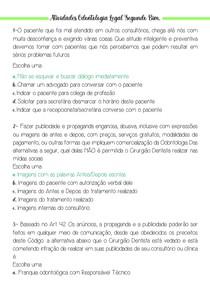 Atividades Odontologia Legal Segundo Bim