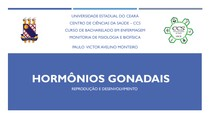 Hormonios Gonadais - Reprodução e Desenvolvimento