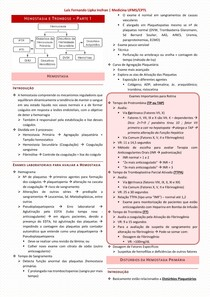 5 - Hemostasia e Trombose 1 de 2